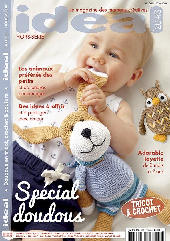 magazine spécial modèles tricot crochet doudous
