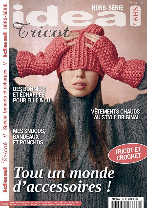 magazine tricot accessoires hiver