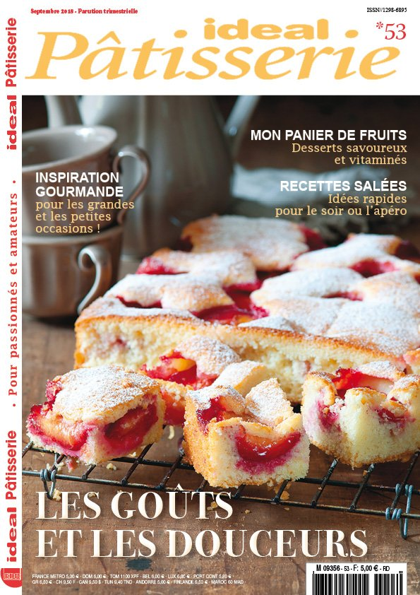 ideal patisserie magazine recettes