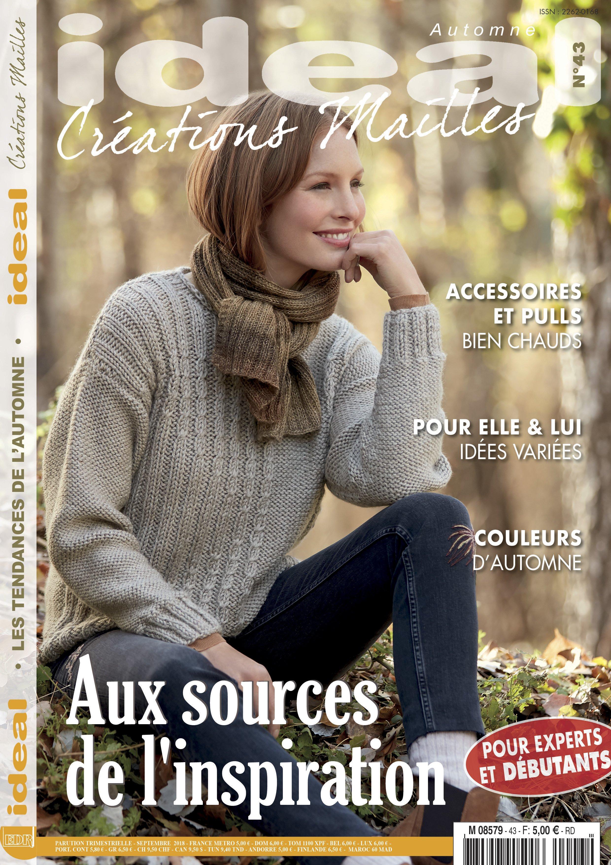 magazine modèles création mailles