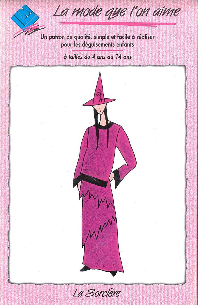 Patron déguisement sorcière