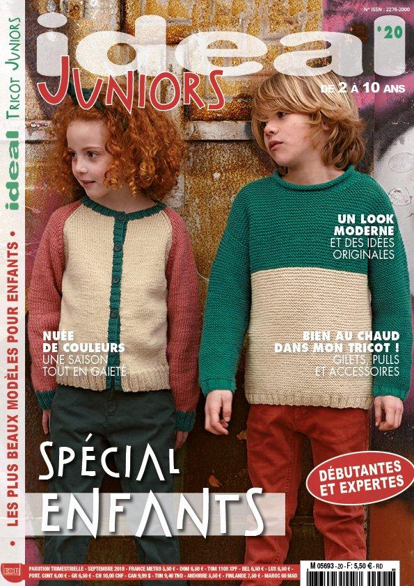 Ideal Tricot Juniors modèles de tricot pour enfants