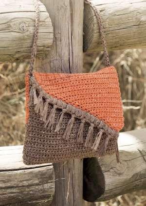 modèle crochet sac automne