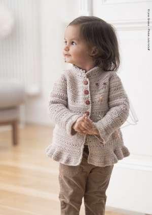 modèle gilet tricoté