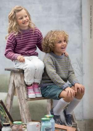 modèles tricot pull pour fille et garçon