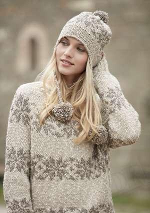 modèle pull femme hiver