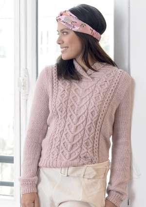 tricot-pull-rose-vetement