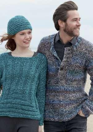 tricot de bonnet et pull en laine pour hommes et femmes
