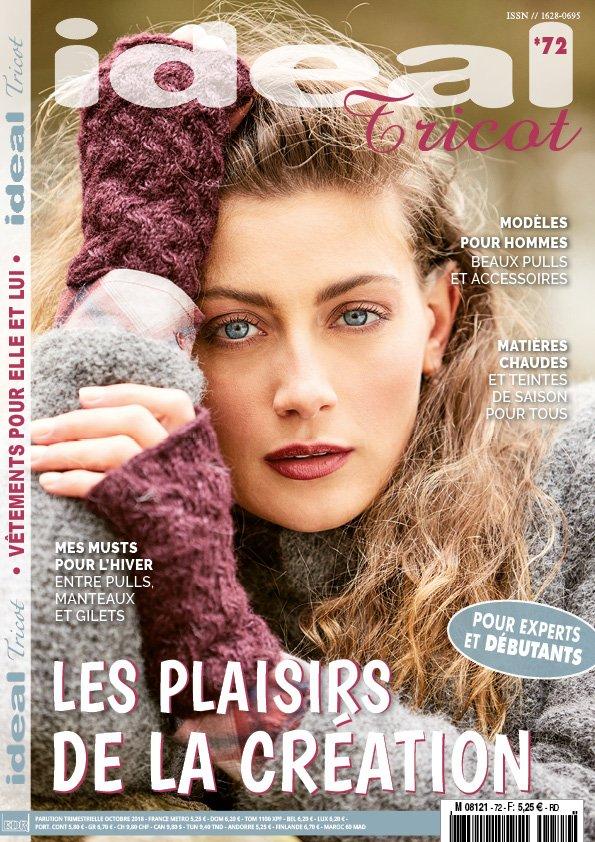 magazine pour tricot de vêtements d'hiver