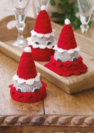 ideal crochet deco noel laine