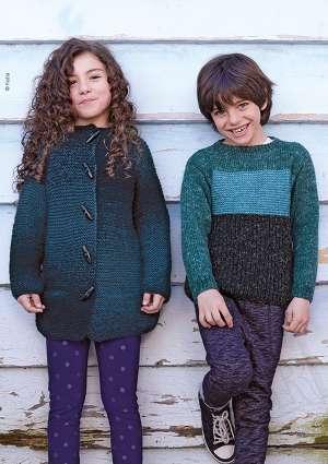tricot junior laine gilet pull