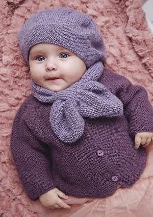 ideal layette 21 bonnet et écharpe bébé