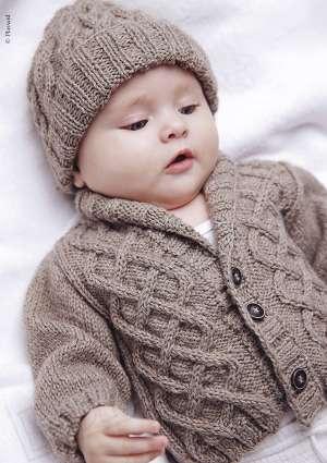 ideal layette 21 bonnet et tricot bébé