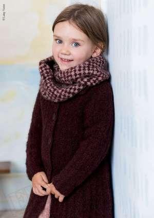 ideal tricot juniors HS 7 tricot laine gilet echarpe