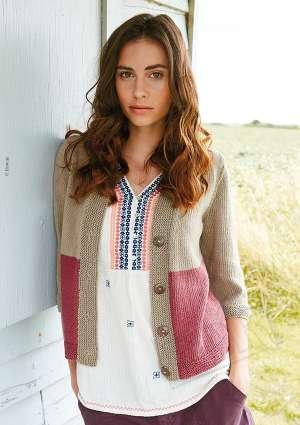 ideal tricot 73 gilet laine