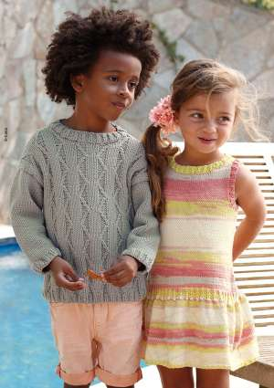 ideal tricot juniors 22 pull robe laine