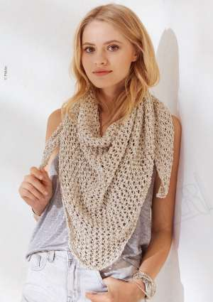 ideal tricot etole beige laine femme