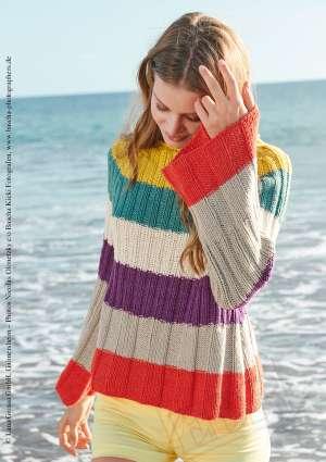 pull couleur laine femme