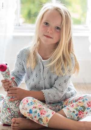 ideal tricot juniors gilet laine
