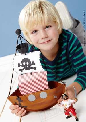 bricolage bateau pirate