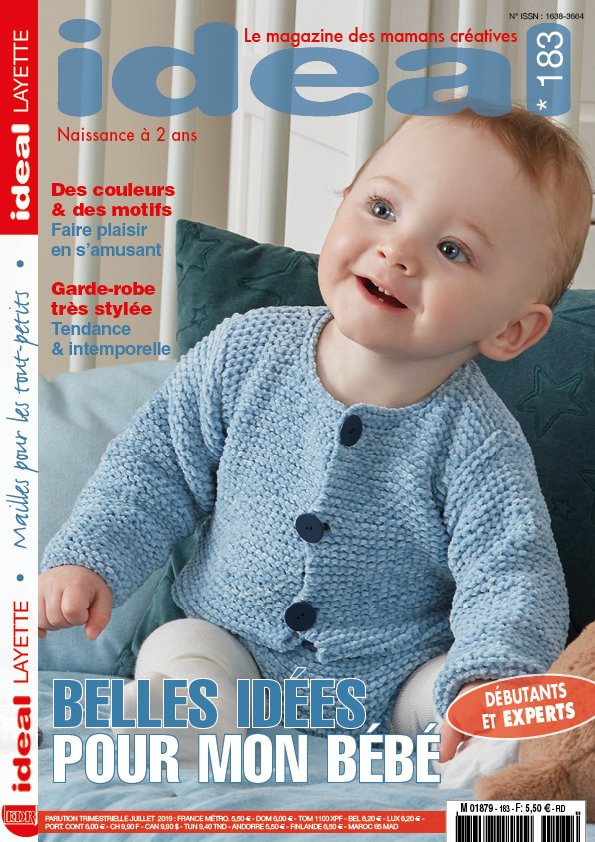 couverture catalogue layette 183