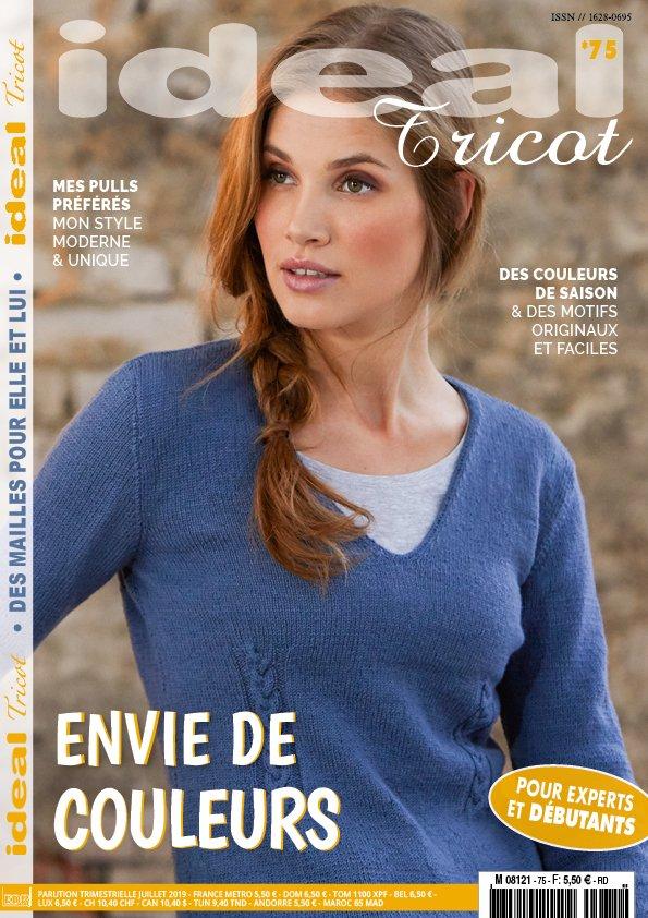 couverture catalogue ideal tricot 75