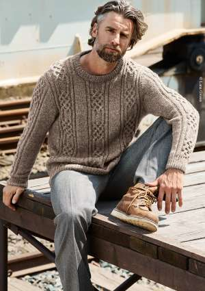 ideal tricot laine pull homme