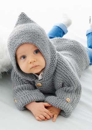 gilet laine tricot bébé