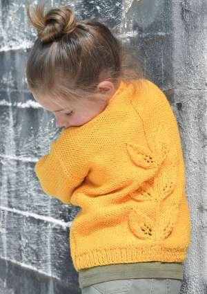 pull motif enfant tricot