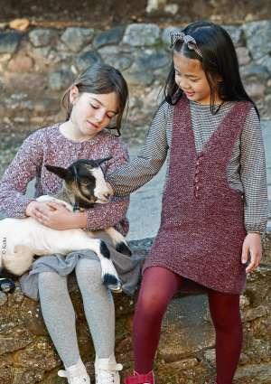 pull robe enfant tricot