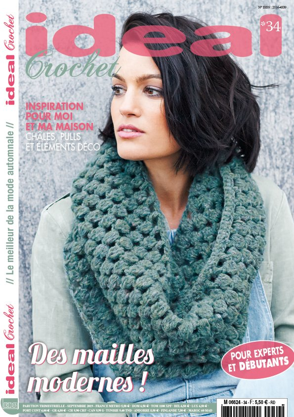 couverture ideal crochet 34