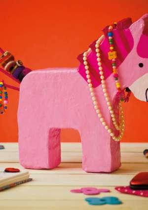 magazine bricolage poney