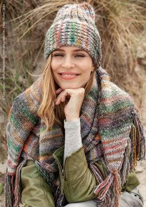modèle tricot bonnet écharpe