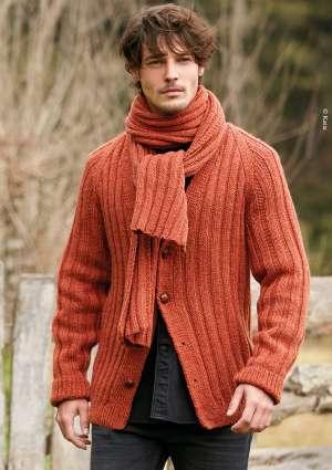modèle pull tricot homme