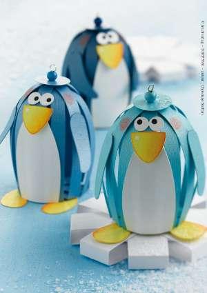bricolage enfants pingouins