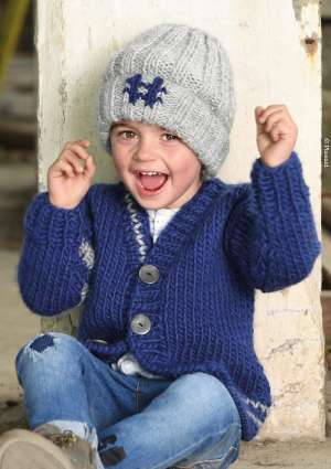 modèle bonnet hashtag enfant