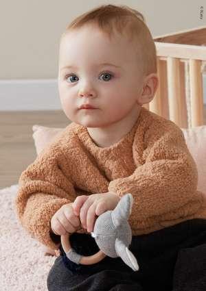 tricot pull bébé