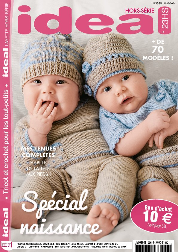 couverture ideal layette 23 HS