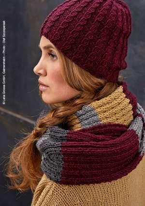 modèle tricot écharpe