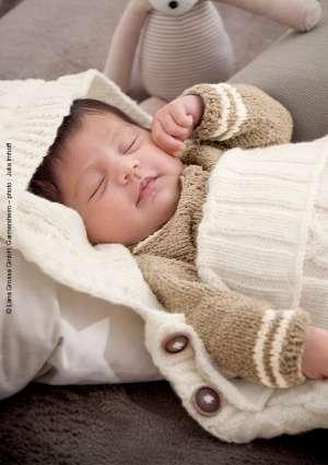 modèle tricot nid d'ange
