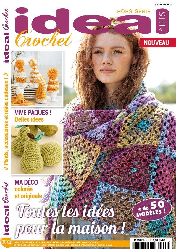 crochet accessoires plaid décoration pâques