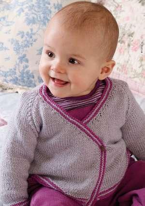 bébé tricot gilet laine