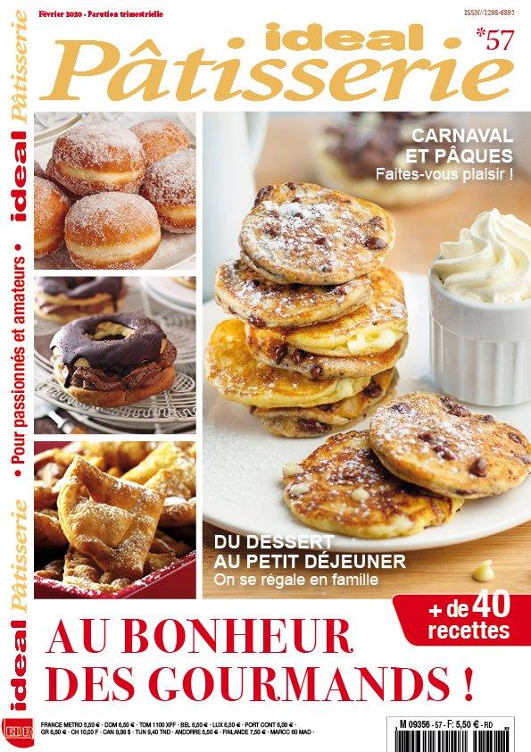 ideal pâtisserie couverture carnaval et pâques
