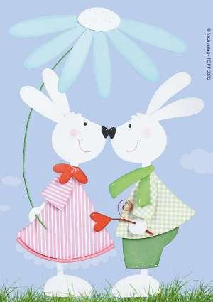 bricolage enfant pâques lapin