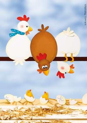 bricolage enfants poules