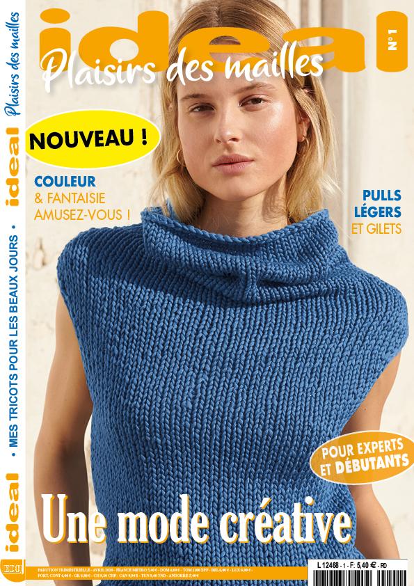 ideal plaisir des mailles n°1 couverture