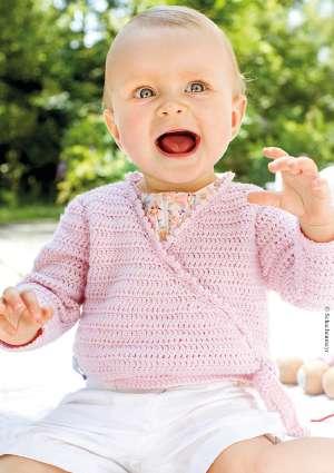 modèle crochet gilet bébé