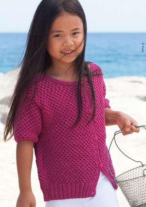 gilet modèle tricot enfant