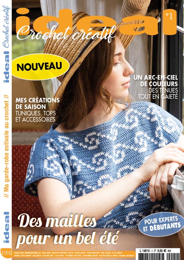 ideal crochet créatif n°1 couverture