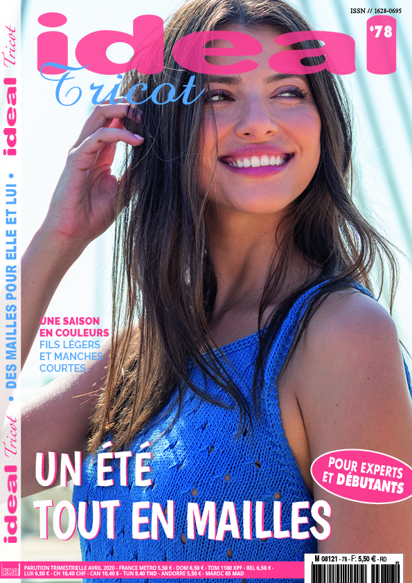 magazine tricot tops modernes